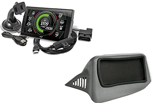 Edge EVO Evolution CTS3 Touch Screen Gauge Monitor 85400-200 & Dash Pod 28502 Compatible with 2007-2013 Chevy Silverado/GMC Sierra 6.6L LB7/LLY/LBZ Duramax Diesel 2500HD 3500HD