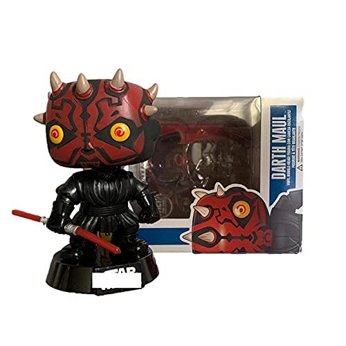 HUAL Figuras Pop Star Wars Darth Maul # 09 Figura De Acción De Vinilo Juguetes 10Cm, Colección De...
