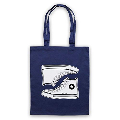 My Icon Art & Clothing Allstars Basketball Shoes Bolso, Azur Marino