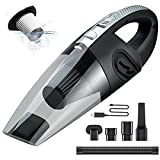 KZED Handheld Vacuum, Car Vacuum Cordless, Mini Car Vacuum with Waterwashable Filter Powerful Suction Quick Charge, Small Vacuum Cleaner for Pet Hair, Dust, Home and Car Cleaning