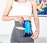 PoJu Cinturón de ostomía para colostomía Bolsa de urostomía drenable después de colostomía Bolsa de ileostomía Cinturón de Hernia inguinal, con Bolsa de 80 Piezas (Color : A)