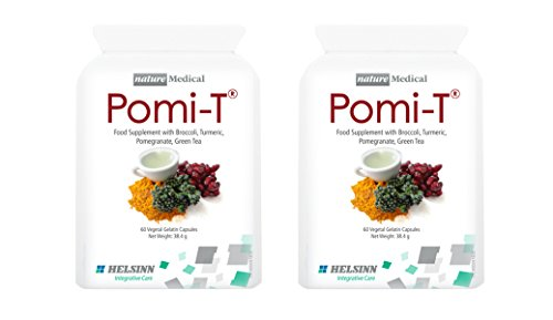 Pomi-T Polyphenol Food Supplement 120 Capsules (Pack of 2 x 60 Capsules)