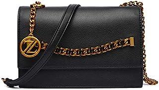 Zeneve London Crossbody Bag For Women, Black, 119908100016
