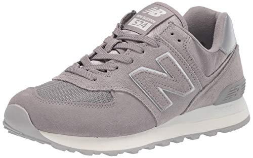 New Balance 574 Sateen Tab, Zapatillas Mujer, Gris (Grey Ms), 37 EU