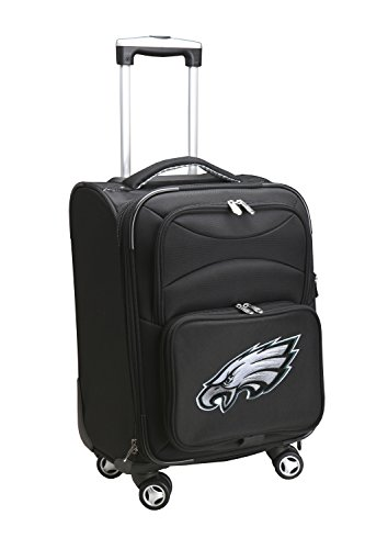 Best Deals! Denco NFL Philadelphia Eagles Domestic Carry-On Spinner, 20-Inch, Black
