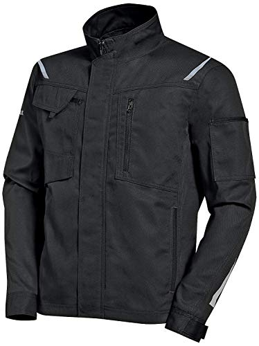 Uvex Synexxo Herren-Arbeitsjacke - Schwarze Männer-Bundjacke - Sportlicher Schnitt & Viele Taschen XL