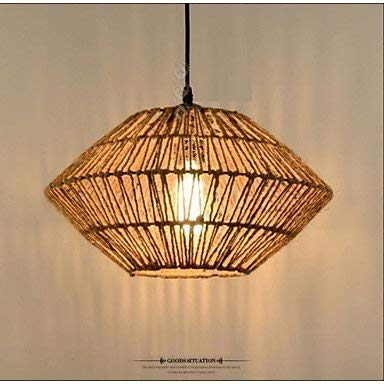 Kejing Moderne kroonluchter plafondverlichting hanger retro rope made er is een lamp kroonluchter 3C Ce FCC Rohs voor woonkamer slaapkamer
