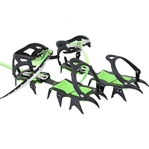 BRS HuaYe Professional Edition Fourteen Teeth Ice Crampons Winter Snow Boot Shoe Covers Gripper BRS-S1A
