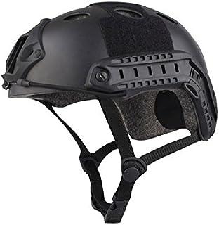 haoYK Tactical Airsoft casco lato fibbia di occhiali a visione notturna Rotary morsetto rail adattatore per elmetto OD