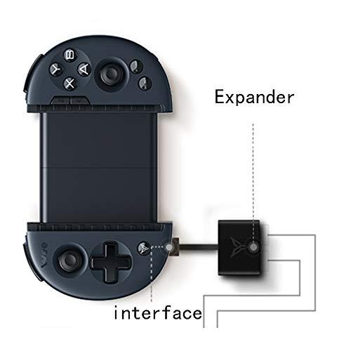 Zero starting point Gamepad Manette Bluetooth 4.0, Manette Controleur De Jeu Mobile Portable iOS/Android, Wireless Gamepad Portable Controleur, Manette du Contrôleur De Jeu,Price1