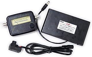 2301 PPLS サテライトファインダー レベルチェッカー 衛星アンテナ調整器 ポータブル電源供給器付 スターターセット 初心者対応