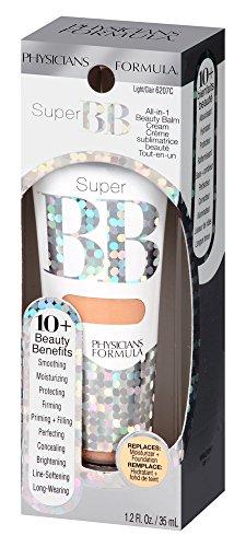 Physicians Formula Super BB All-in-1 Beauty Balm Cream SPF 30, Light, 1.2 Fluid Ounces
