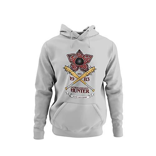 BlackSweatshirt Demogorgon Hunter Stranger Things Sudadera con Capucha XXL STR14