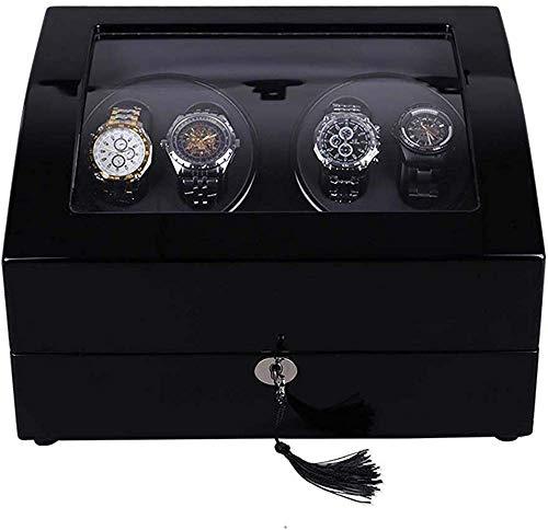 bxbx Caja Enrollador Doble Reloj,Reloj Automático Caja Caja De Balancín Reloj De...