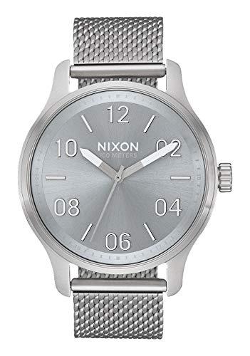Nixon Reloj Analógico para Hombre de maquinaria Japonesa de Cuarzo con Correa en Acero Inoxidable A1242-3316-00