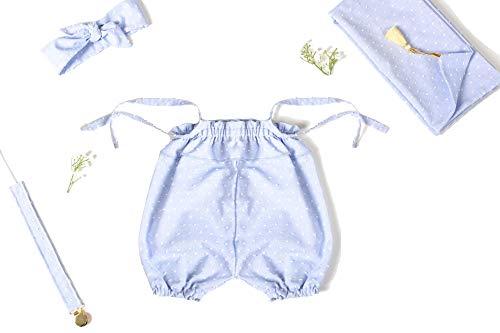 Coffret naissance fille 4 pièces bleu PLUMETIS (6-12 mois)