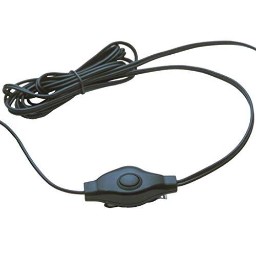 Affordable 2 Cobra Earbud & Microphone MicroTalk Walkie Talkie Headsets, Black (4 Pack)