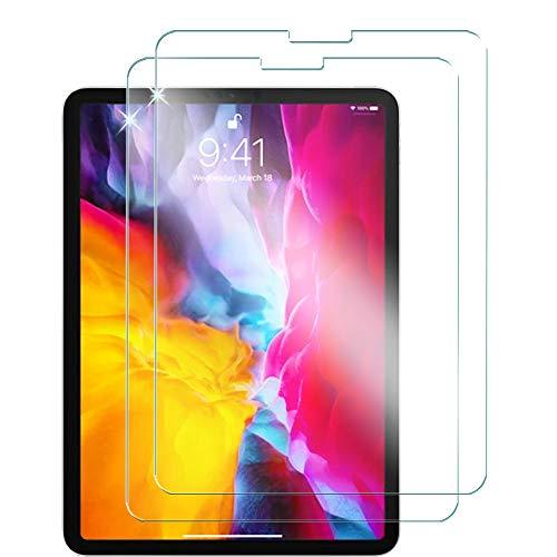 TECHGEAR 2 Stück Panzerglas für iPad Pro 11 2021/2020/2018, iPad Air 4 2020 Panzerglas Folie Anti-Kratzer kompatibel mit iPad Pro 11 Zoll 3. 2. 1. Generation, iPad Air 2020 4. Generation