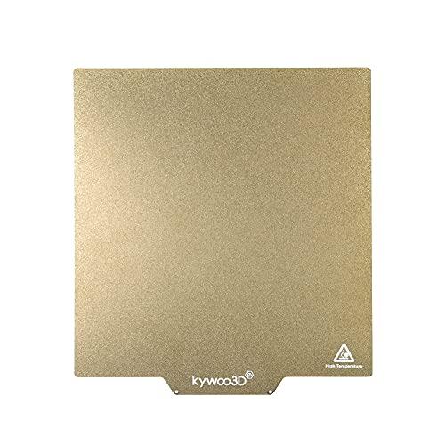 Kywoo PEI Sheet Around 245 * 260mm for 3D Printer Build Surface Ultra smooth PEI board (Tycoon Dull Polish)
