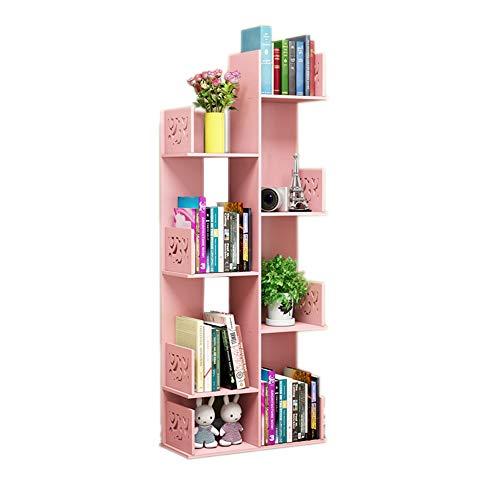 Yongfeng Bücherregal - Einfaches Bücherregal für Studenten, große Kapazität, kleines Bücherregal mit kreativer Kombination...