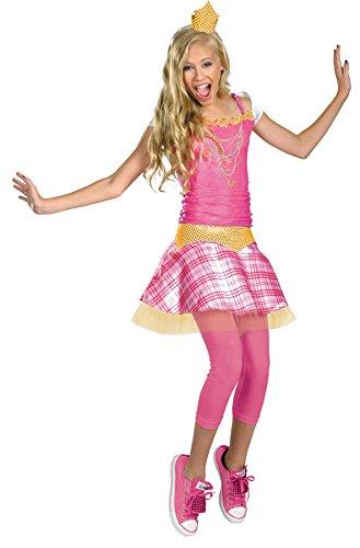 Disguise Inc Girls' Disney Sleeping Beauty Princess Aurora Tween Costume Multicoloured Size 7/8