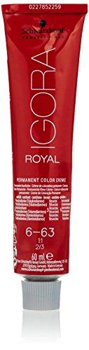 Schwarzkopf IGORA Royal Premium-Haarfarbe 6-63 dunkelblond schoko matt, 1er Pack (1 x 60 g)