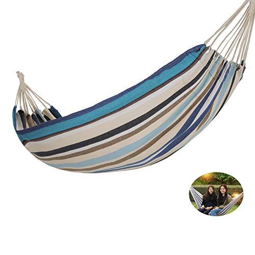 ZSY Hamaca de Lona al Aire Libre, Hecha, Utilizada en la Playa de la Puerta del Patio Trasero, con una Carga máxima de 300 kg