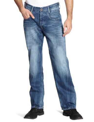 G-STAR RAW Herren New Radar Low Loose Jeans, Blau (Rugby wash 3606-2413), 30W / 34L