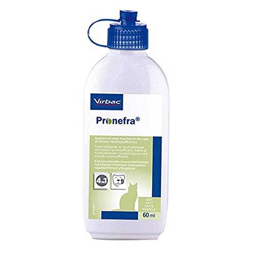Virbac Pronefra Diät-Ergänzungsfuttermittel für Kleintiere, 1er Pack (1 x 60 ml)
