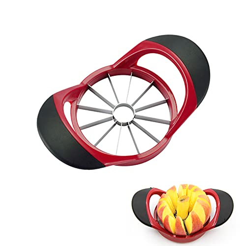 Stainless Steel Apple Corer and Slicer with 12 Sharp Blades