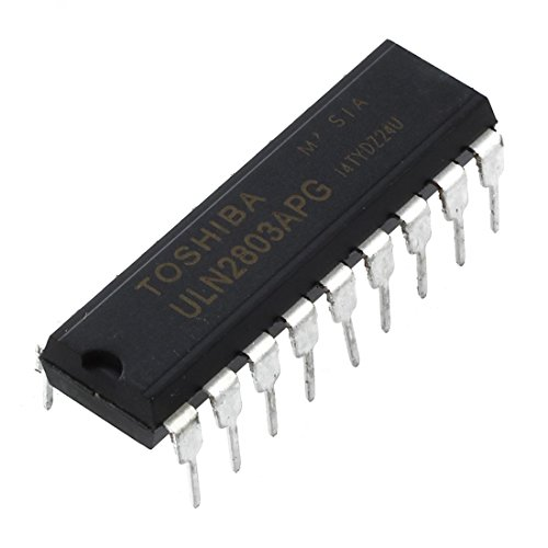 RETYLY 20x ULN2803APG ULN2803 DIP-18 Transistor TOSHIBA DARLINGTON ARRAYS Puffer Treiber