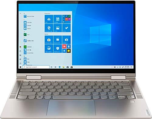 "2021 Newest Lenovo Yoga C740 2-in-1 Laptop 14"" FHD IPS Touchscreen Intel 4-Core i5-10210U 8GB DDR4 256GB PCIe SSD Backlit Keyboard Fingerprint USB Type-C Mica Windows 10 Pro w/ RE 32GB USB 3.0 Drive"