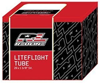 Redline Bike Tube LiteFlight 20 x 1 3//8 Black P//V