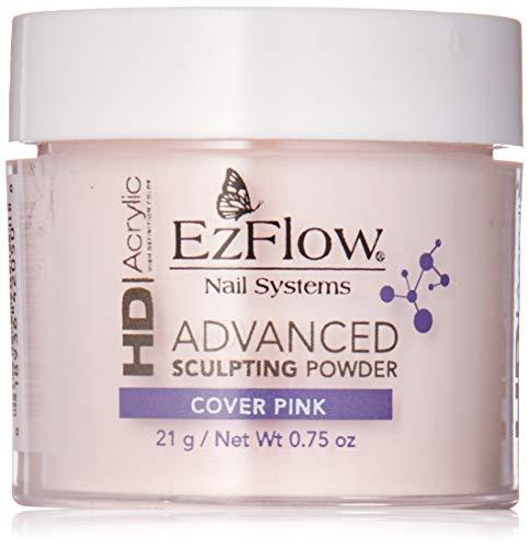 EzFlow, Capa superior de esmalte de uñas (Rosa Opaco) - 21 gr.