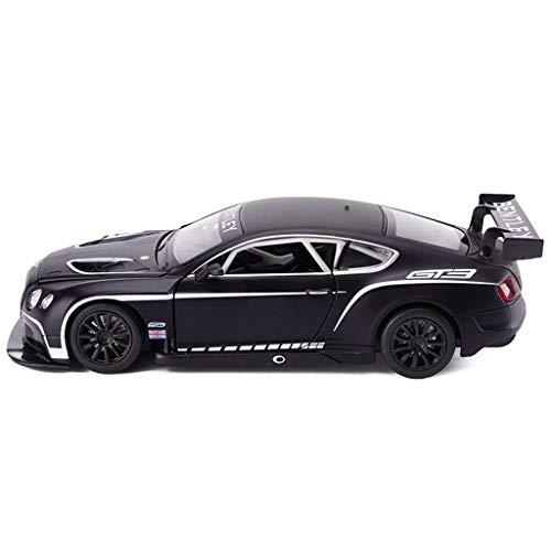 hclshops Modelo Bentley Continental GT3 Modelo de simulación 1:24 Die Casting de aleación de Coches de Juguete de simulación de Coches Regalo del Muchacho