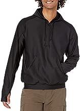 Tru-Spec Men's 24-7 Pullover Grid Fleece Hoodie, Black, X-Large