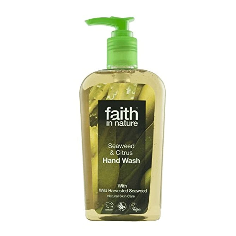 移動動機オリエントFaith In Nature Seaweed Handwash 300ml (Pack of 2) - 自然海藻手洗いの300ミリリットルの信仰 (x2) [並行輸入品]