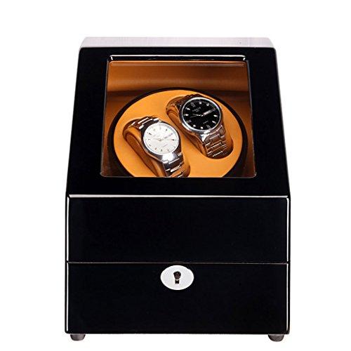 Jia He Uhrenbox - Uhr Display Box Rotierende Shaker Tisch Plattenspieler Schmuck Aufbewahrungsbox, automatische Wicklung Box Uhrenbox (Farbe : C)