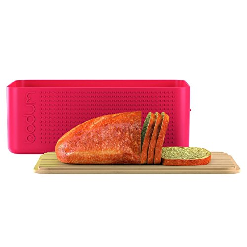 Bodum Large Bread Box - Red