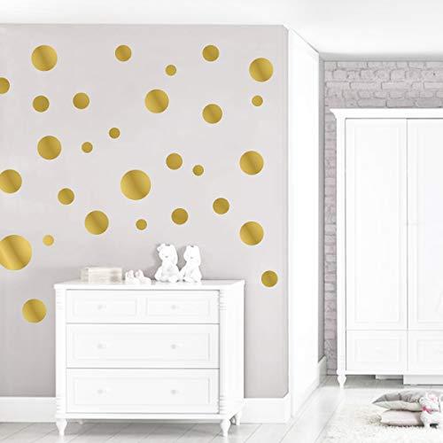 Graz Design - Adesivo da parete, motivo coriandoli, 84 pezzi per set