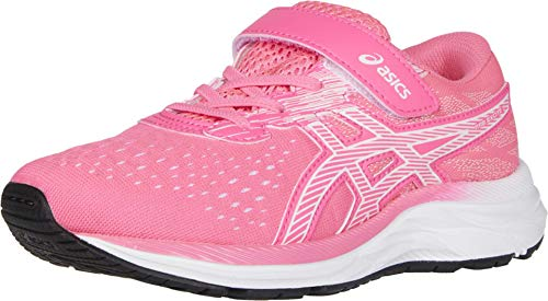 ASICS Kid's Gel-Excite 7 PS Running Shoes, 1.5M, HOT Pink/White