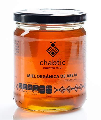 Miel de abeja Chabtic 100% orgánica, Chiapas México - 600g