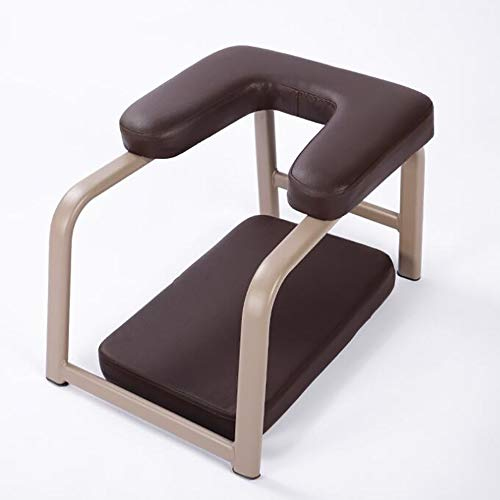 Affordable Balanced Body Headstand Bench Ideal Chair for Practice Head Stand, Shoulderstand, PU Pads...