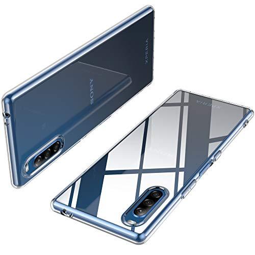 iBetter für Sony Xperia L4 Hülle, Soft TPU Ultra Thin Cover Handyhülle Stoßfest Anti-Scratch Slim-Fit Shock Absorption Hülle passt für Sony Xperia L4 Smartphone, klar