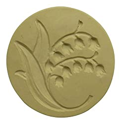 Brown Bag Lily of the Valley Cookie Stamp