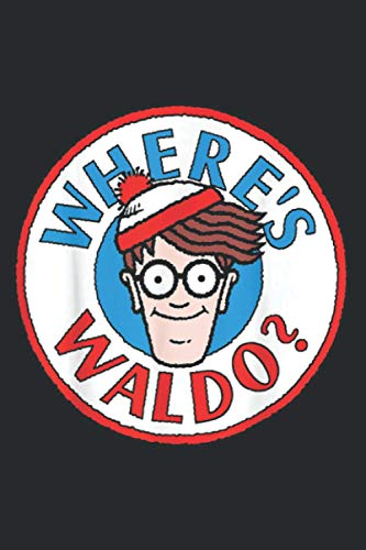 Where S Waldo Head Portrait Circle Logo Graphic: Plan Your Day In Seconds: Notebook Planner, Daily Planner Journal, To Do List Notebook, Daily Organizer