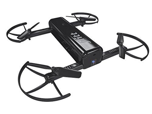 Flitt 20060, Die fliegende Selfie-Kamera für spektakuläre HD-Videos und Fotos für die Hosentaschen, zusammenfaltbar, keine Flugerfahrung erforderlich