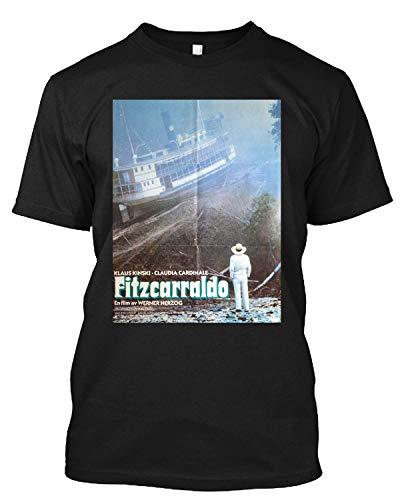 Fitzcarraldo Movie Werner Herzog Klaus Kinski Vintage T Shirt Gift Tee
