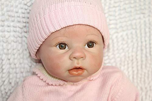 bebe reborn 22 inch 55cm muñecas reborn Realista del bebé los niños hechos a mano regalo del bebé renacer de la muñeca de silicona suave Simulación de vinilo de realista juguete lindo de la muñeco