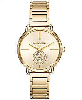 Michael Kors Women's Gold Dial Stainless Steel Band Watch - MK3639